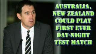 Australia, New Zealand could play Day-Night Test in November 2015