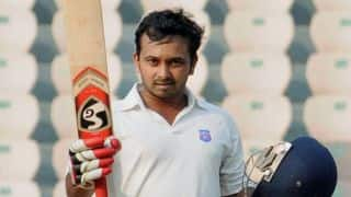 Irani Trophy: Jadhav, Aparajith steady ROI innings