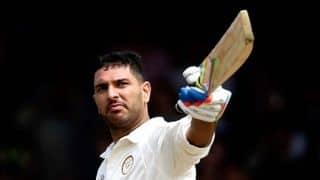 Yuvraj scores 33rd First-Class century against Haryana