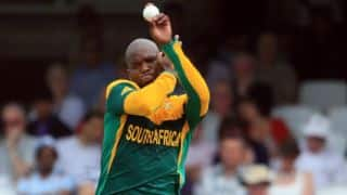Tsotsobe may miss ICC World T20 in Bangladesh