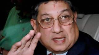 Srini ordered by SC to stay away from working committee