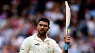 Yuvraj's century helps Punjab beat Haryana by 120 runs