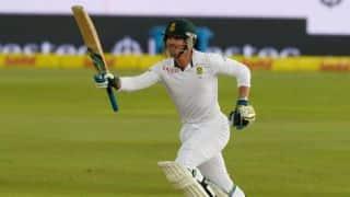 Van Zyl 1st Proteas batsman to get debut 100 in SA