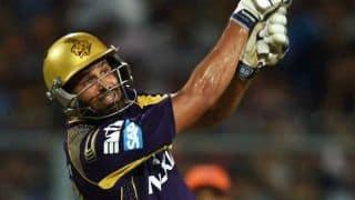 KKR celebrate after win against SRH