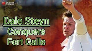 Dale Steyn conquers Fort Galle